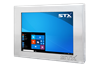 X7510-RT Industrial Panel PC - Fully Sealed Fanless Computer For Harsh Environments with Resistive Touch Screen