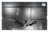 Fully sealed Industrial Panel PC with IP67 rated connectors - Matte Black Finish